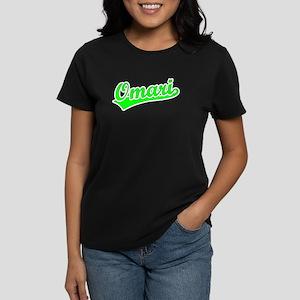 Retro Omari (Green) Women's Dark T-Shirt