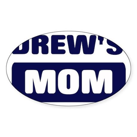 DREW Mom Oval Sticker