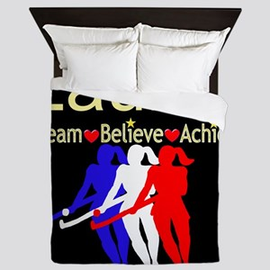 HOCKEY GIRL Queen Duvet