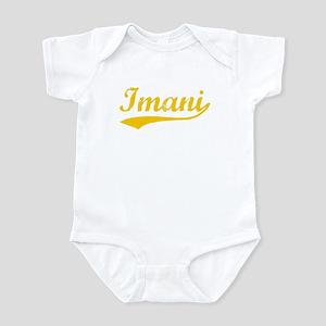 Vintage Imani (Orange) Infant Bodysuit