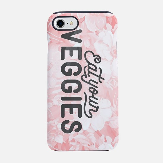 Eat Your Veggies iPhone 7 Tough Case