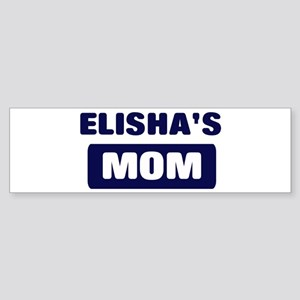 ELISHA Mom Bumper Sticker