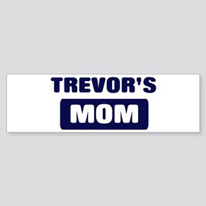 TREVOR Mom Bumper Sticker