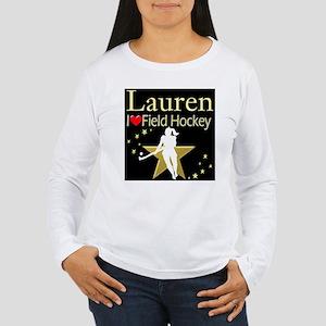 HOCKEY GIRL Women's Long Sleeve T-Shirt
