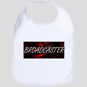 Broadcaster Professional Job Design Baby Bib