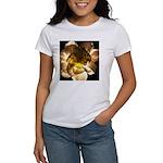 White Carnation Women's T-Shirt