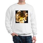 White Carnation Sweatshirt