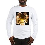 White Carnation Long Sleeve T-Shirt