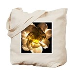 White Carnation Tote Bag
