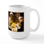White Carnation Large Mug