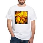 Yellow Daffodil White T-Shirt