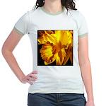 Yellow Daffodil Jr. Ringer T-Shirt