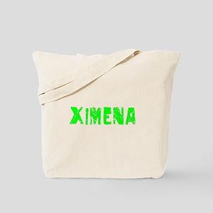 Ximena Faded (Green) Tote Bag