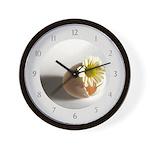 Hatching Daisy Wall Clock