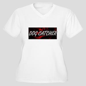 Dog Catcher Professional Job Des Plus Size T-Shirt
