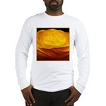 Yellow Ranunculus Long Sleeve T-Shirt