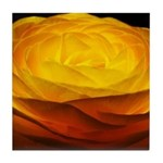 Yellow Ranunculus Tile Coaster