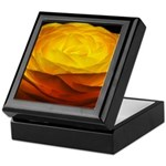 Yellow Ranunculus Keepsake Box