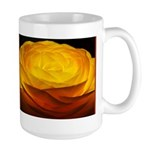 Yellow Ranunculus Large Mug