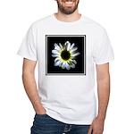 Daisy Flower White T-Shirt