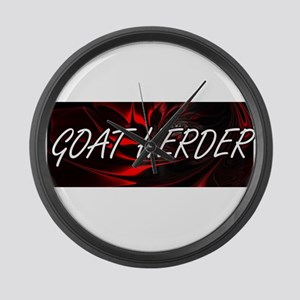 Goat Herder Professional Job Desi Large Wall Clock