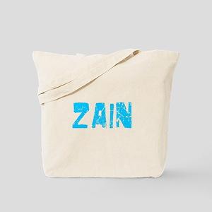 Zain Faded (Blue) Tote Bag