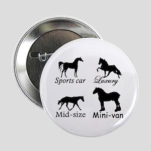 "Horse Cars 2.25"" Button"
