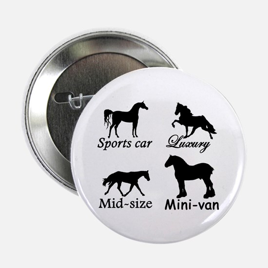 "Horse Cars 2.25"" Button"