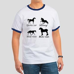 Horse Cars Ringer T