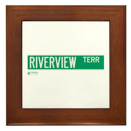 Riverview Terrace in NY Framed Tile