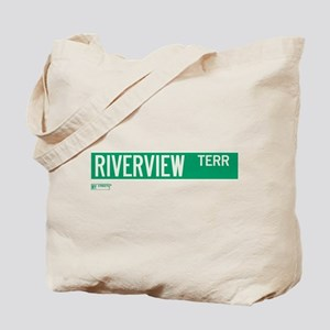 Riverview Terrace in NY Tote Bag
