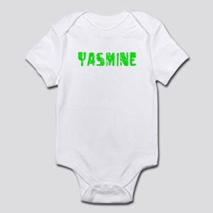 Yasmine Faded (Green) Infant Bodysuit