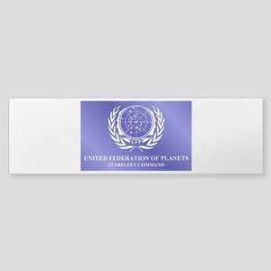 STAR TREK UFP-SFC Sticker (Bumper)