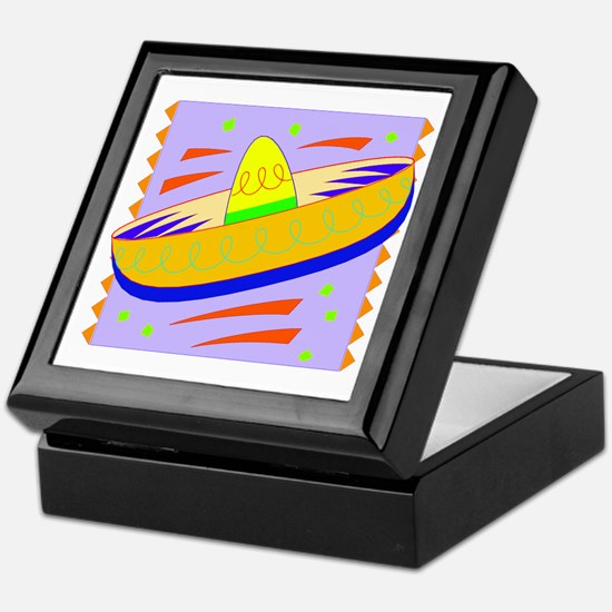 Cinco de Mayo Festive Hat Keepsake Box