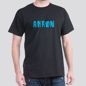 Akron Faded (Blue) Dark T-Shirt