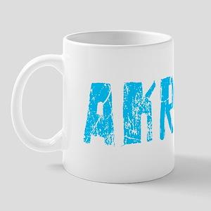 Akron Faded (Blue) Mug