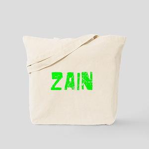 Zain Faded (Green) Tote Bag