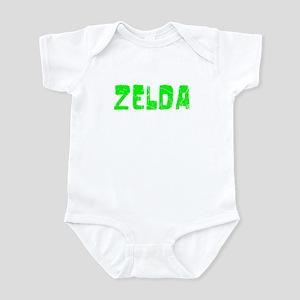Zelda Faded (Green) Infant Bodysuit