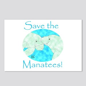 Save the Manatees Postcards (Package of 8)