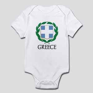 Greece Coat of Arms Infant Bodysuit