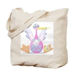 Stork Baby on the Way Tote Bag