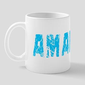 Amarillo Faded (Blue) Mug