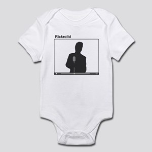 Rick Roll Infant Bodysuit