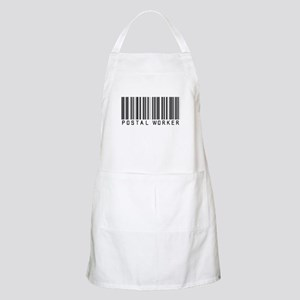Postal Worker Barcode BBQ Apron