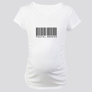 Postal Worker Barcode Maternity T-Shirt