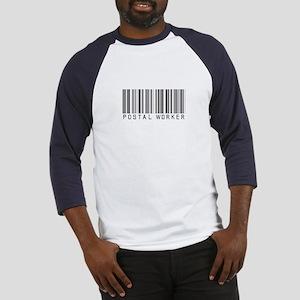 Postal Worker Barcode Baseball Jersey