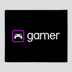 Gamer (Purple) Throw Blanket
