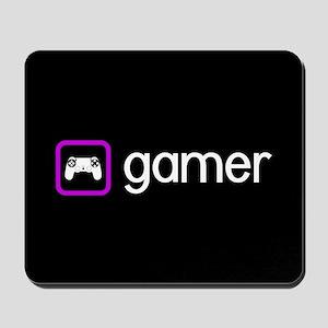 Gamer (Purple) Mousepad