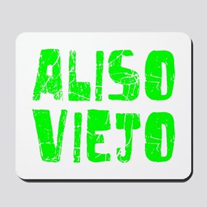 Aliso Viejo Faded (Green) Mousepad