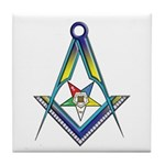 The S&C with the OES Star Tile Coaster